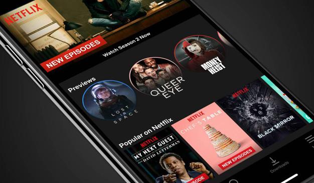 Netflix apuesta por un nuevo diseño móvil para descubrir contenidos
