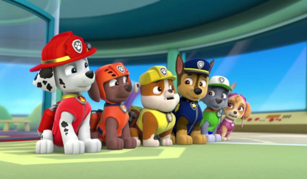Nickelodeon y Yelmo ofrecen disfrutar de la Patrulla Canina en el cine