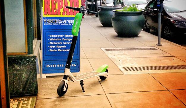 Adiós al alquiler de bicicletas: los patinetes eléctricos son la nueva moda en San Francisco