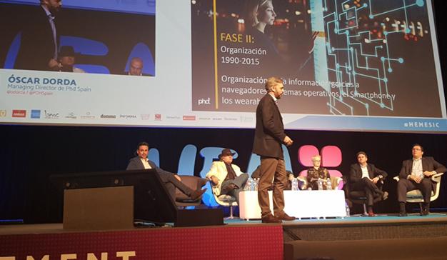 """Oscar Dorda (Phd Spain): """"Los smartphones desaparecerán más deprisa de lo que pensamos"""""""