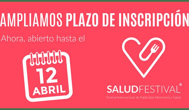 Ampliado plazo de inscripción para SaludFestival 2018 hasta el 12 de abril