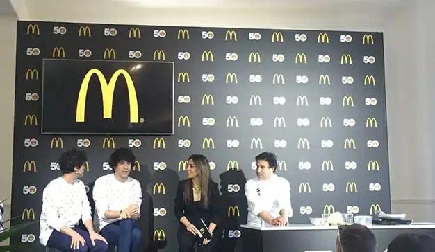 McDonald's celebra el  50º aniversario del Big Mac