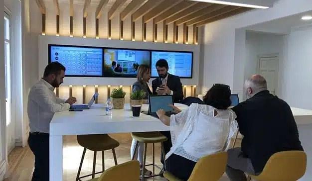 Zeus abre en Madrid un nuevo centro de transformación digital con dashboards motivacionales