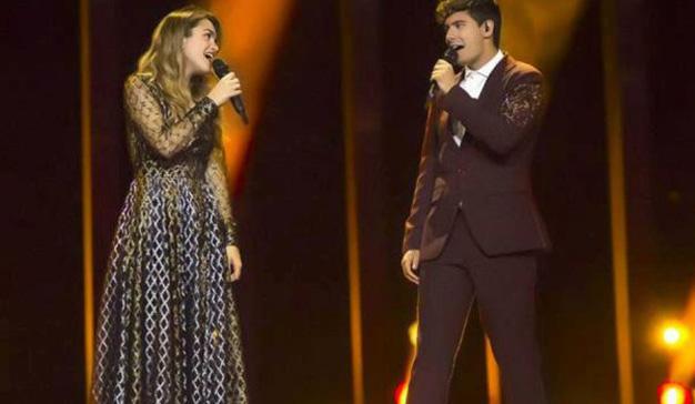 La final de Eurovisión consigue su máxima audiencia en 10 años