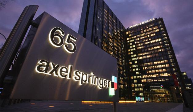 Los medios digitales devoran ya el 70% de la suculenta tarta de ingresos de Axel Springer