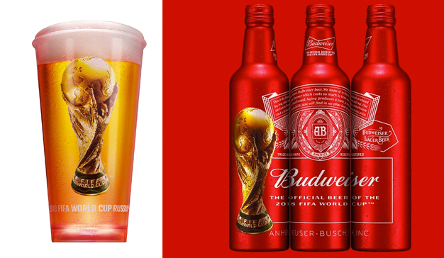 "Budweiser lanza la campaña global ""Light up the FIFA World Cup"""