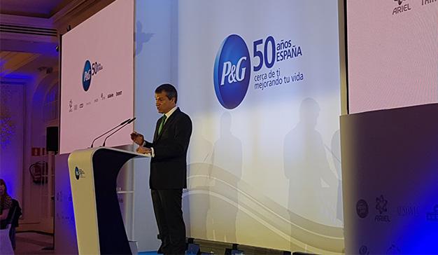 """Javier Solans (P&G): """"Este es el P&G de hoy, más fuerte, mejor preparado para el futuro"""""""