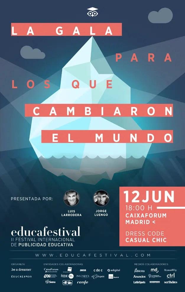 """Educafestival: el poder educativo con el que la publicidad puede """"cambiar el mundo"""""""