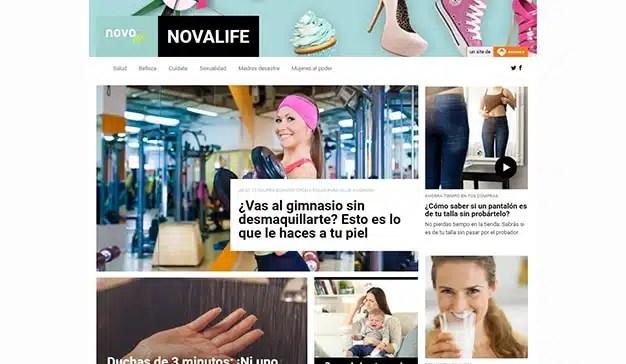 """Nace """"Nova Life"""", el nuevo portal temático de Atresmedia dedicado a la mujer"""