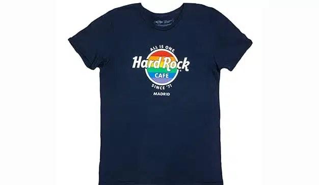 Hard Rock Cafe Madrid celebra el Orgullo con una camiseta con fines solidarios