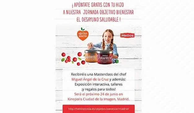 """Grupo Helios y la marca """"Objetivo Bienestar"""" promueven el desayuno familiar saludable"""