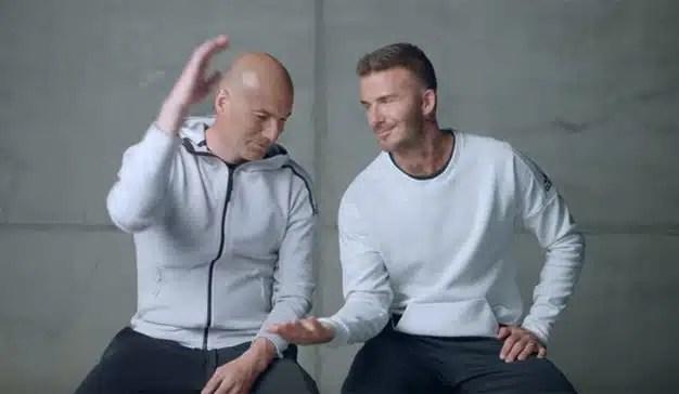 Beckham y Zidane rezuman envidia (sana) el uno por el otro en este spot