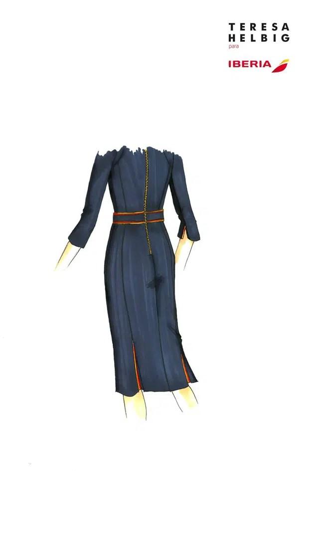 Iberia elige a Teresa Helbig como diseñadora de sus nuevos uniformes