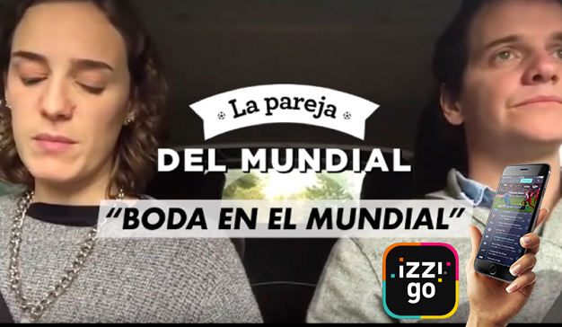 """Éxito de izzi go con """"La pareja del Mundial"""""""