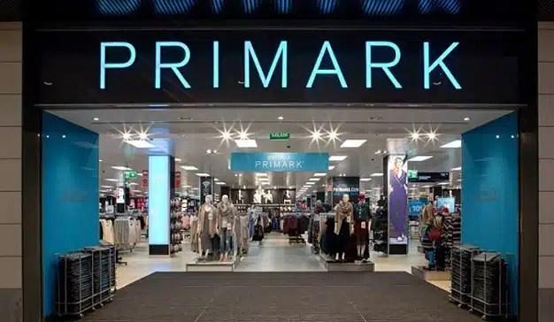 Primark aumenta sus ingresos un 7% en 9 meses gracias al aumento de sus superficies de venta