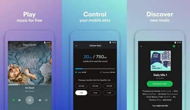 Spotify se aprieta el cinturón y apuesta por el ahorro de datos con su versión Lite