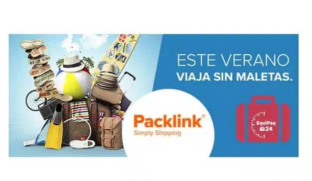 Packlink distribuirá en exclusiva Equipaq: el nuevo servicio de envío de maletas de Correos Express