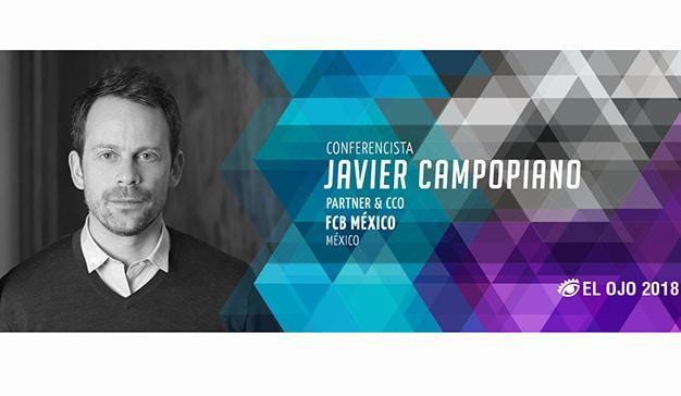 El Ojo de Iberoamérica anuncia a  Javier Campopiano como Conferencista 2018