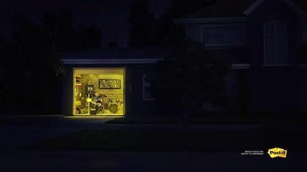 Post-it reconoce con esta campaña el trabajo de quienes pasan la noche en vela