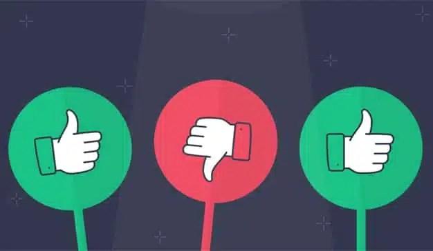 La moderación es más efectiva que la exaltación cuando se trata de las reseñas online