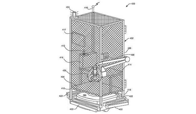 La polémica jaula para empleados que Amazon patentó pero promete no utilizar