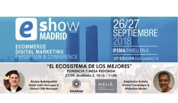 Eulerian Technologies participará en eShow para hablar del ecosistema tecnológico de los mejores