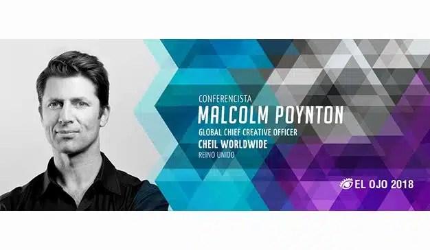 El Ojo 2018 presenta a Malcolm Poynton como Conferencista