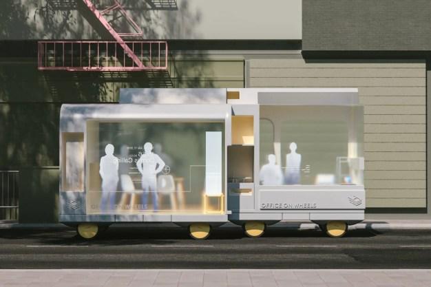 Cafeterías, hospitales, hoteles y oficinas sobre ruedas: IKEA diseña el futuro de la movilidad