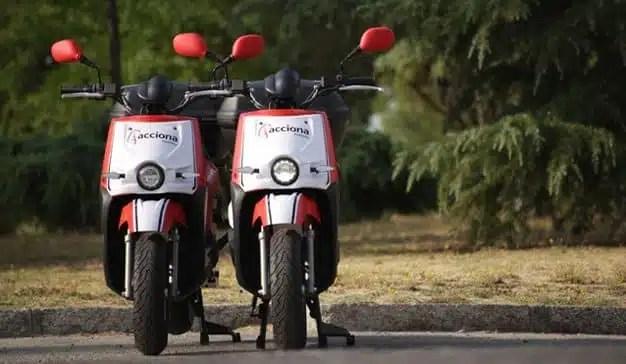 El motosharing de Acciona llega a Madrid