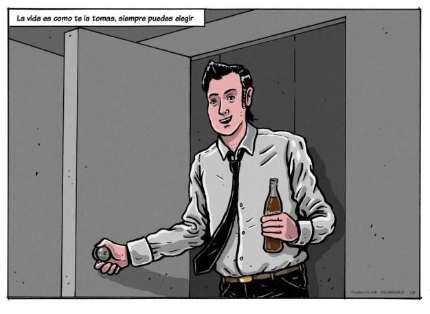 Coca-Cola invita a revivir, a través de estas originales ilustraciones, los momentos más icónicos de su historia en España