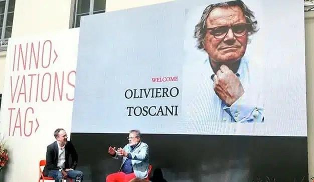 """""""La comunicación hoy en día no es nada sin el poder"""", Oliviero Toscani (Benetton)"""