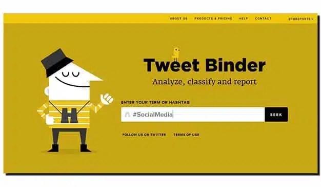 Calcule el valor económico de los hashtags de twitter con Tweet Binder