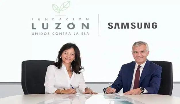 Samsung y Fundación Luzón colaboran para llevar la tecnología al paciente de ELA