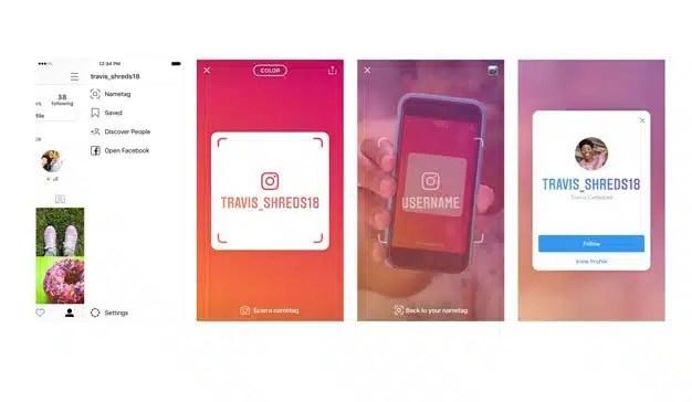 """Instagram incorpora """"Nametag"""": ya no hace falta acordarse del nombre de los usuarios"""