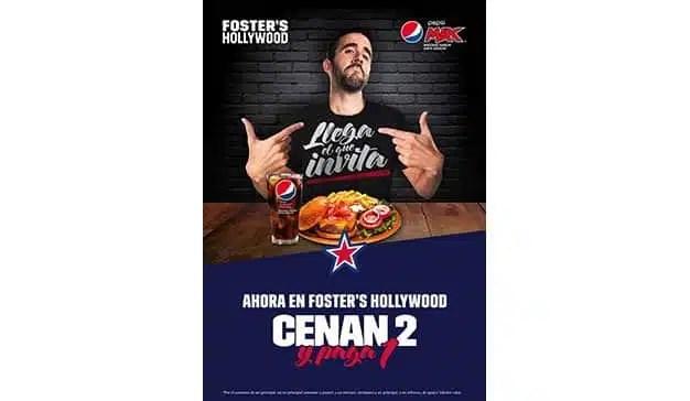 """""""Llega el que invita"""": Foster´s Hollywood y Pepsi MAX® revolucionan las noches de este otoño"""