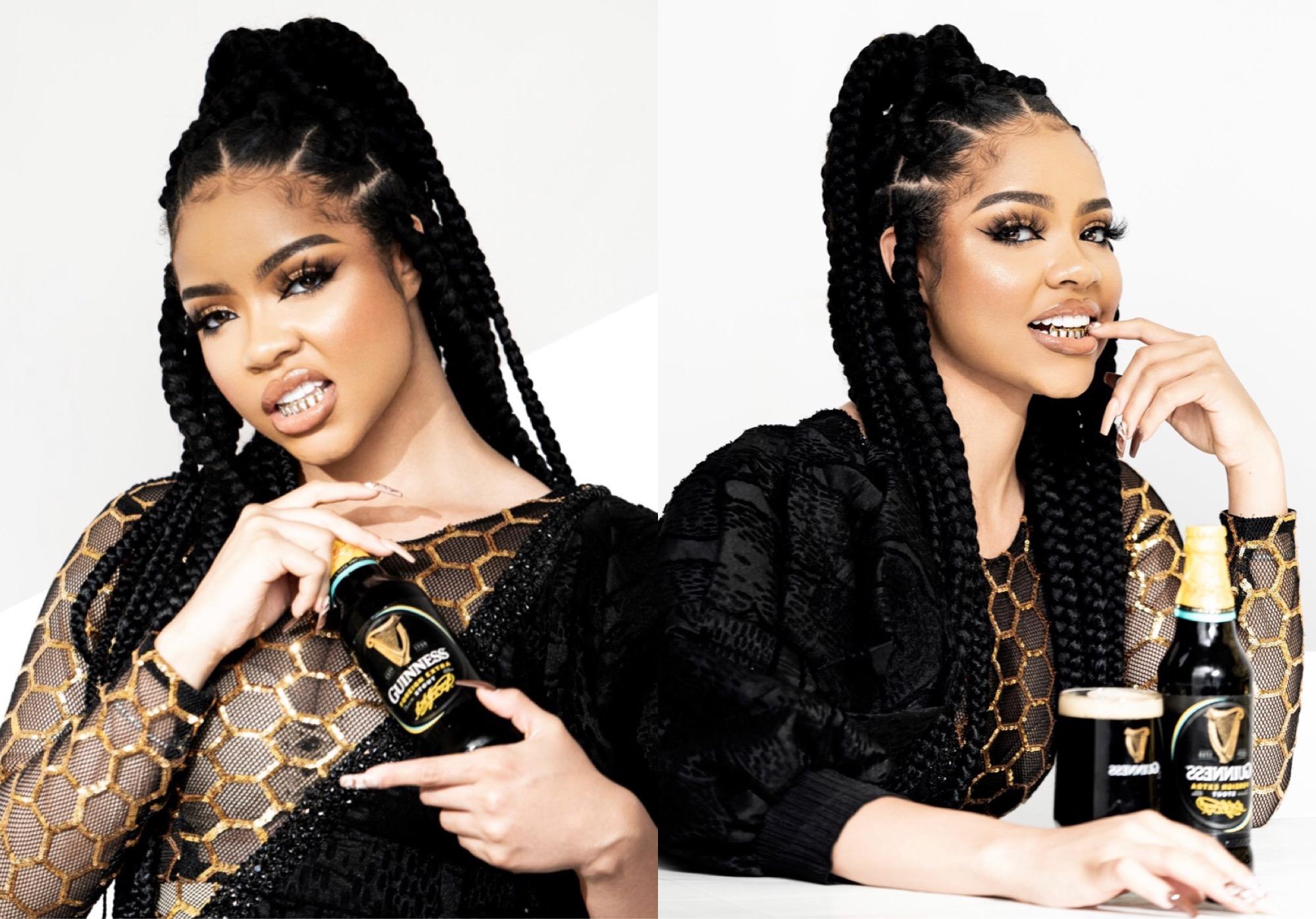 Guinness Nigeria unveils Nengi as new brand ambassador - Marketing Edge  Magazine