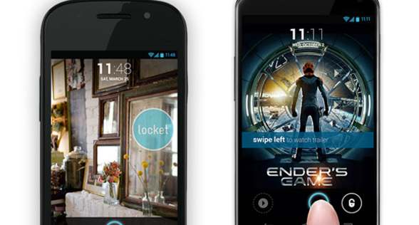Get Locket Mobile Advertising on Lock Screen