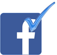 facebook verified tick mark for profile and fan pages