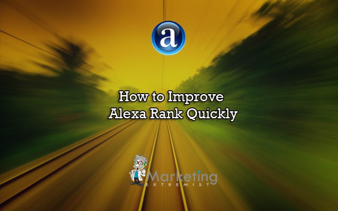 How to Improve Alexa Traffic Rank Quickly