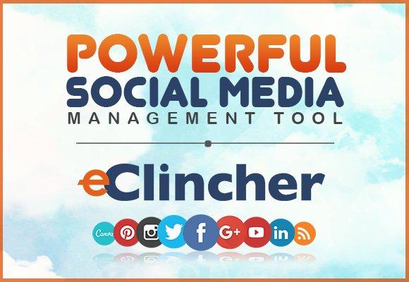 Eclincher Social Media Management Tool