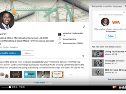 LinkedIn Profile: Setting Yourself Up For Success
