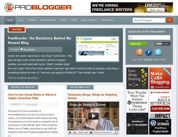 Blog de Darren Rowse Problogger