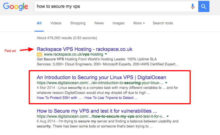 how to secure my vps Google Search