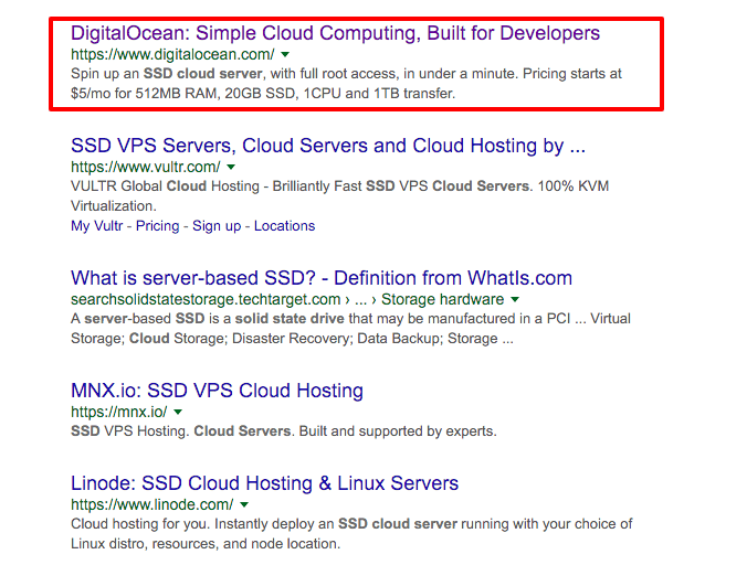 ssd cloud server Google Search