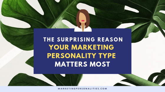 The surprising reason your marketing personality type matters most when creating your marketing strategy