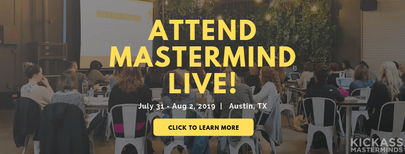 Mastermind LIVE! hosted by Kickass Masterminds 2019