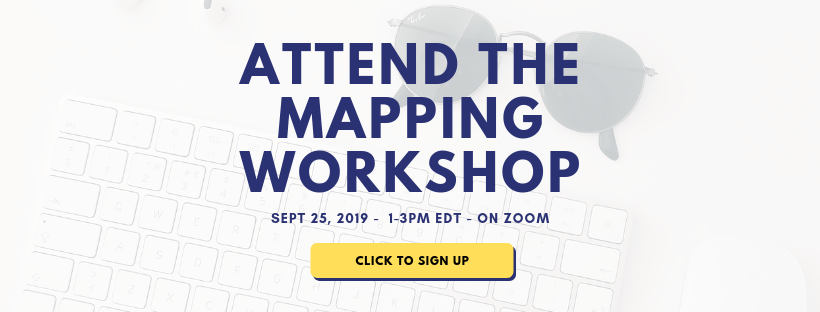 Marketing Strategy Mapping Workshop Sign up for September 25, 2019
