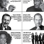 Grandes fracasos, grandes éxitos en motivacion.