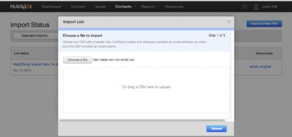 Import HubSpot Contacts