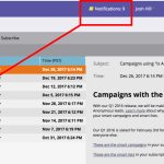 Use Notifications View in CRM Errors